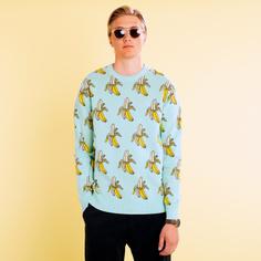 Stickad tröja Mora Crazy Bananas