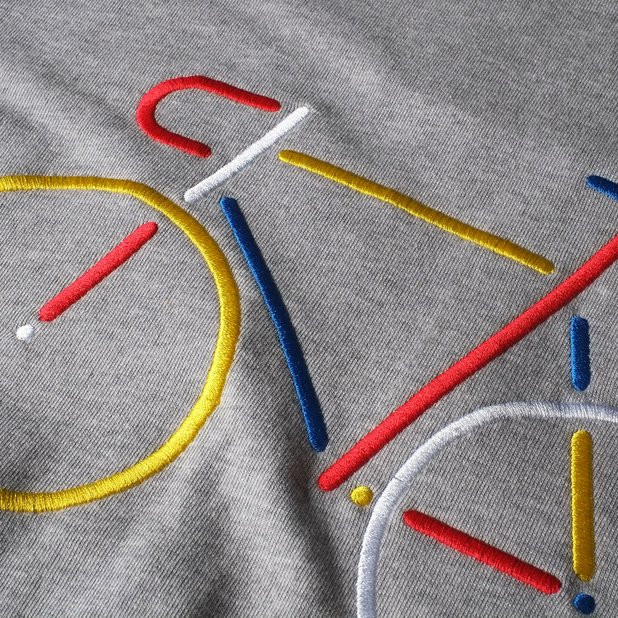 Sweatshirt Ystad Color Bike