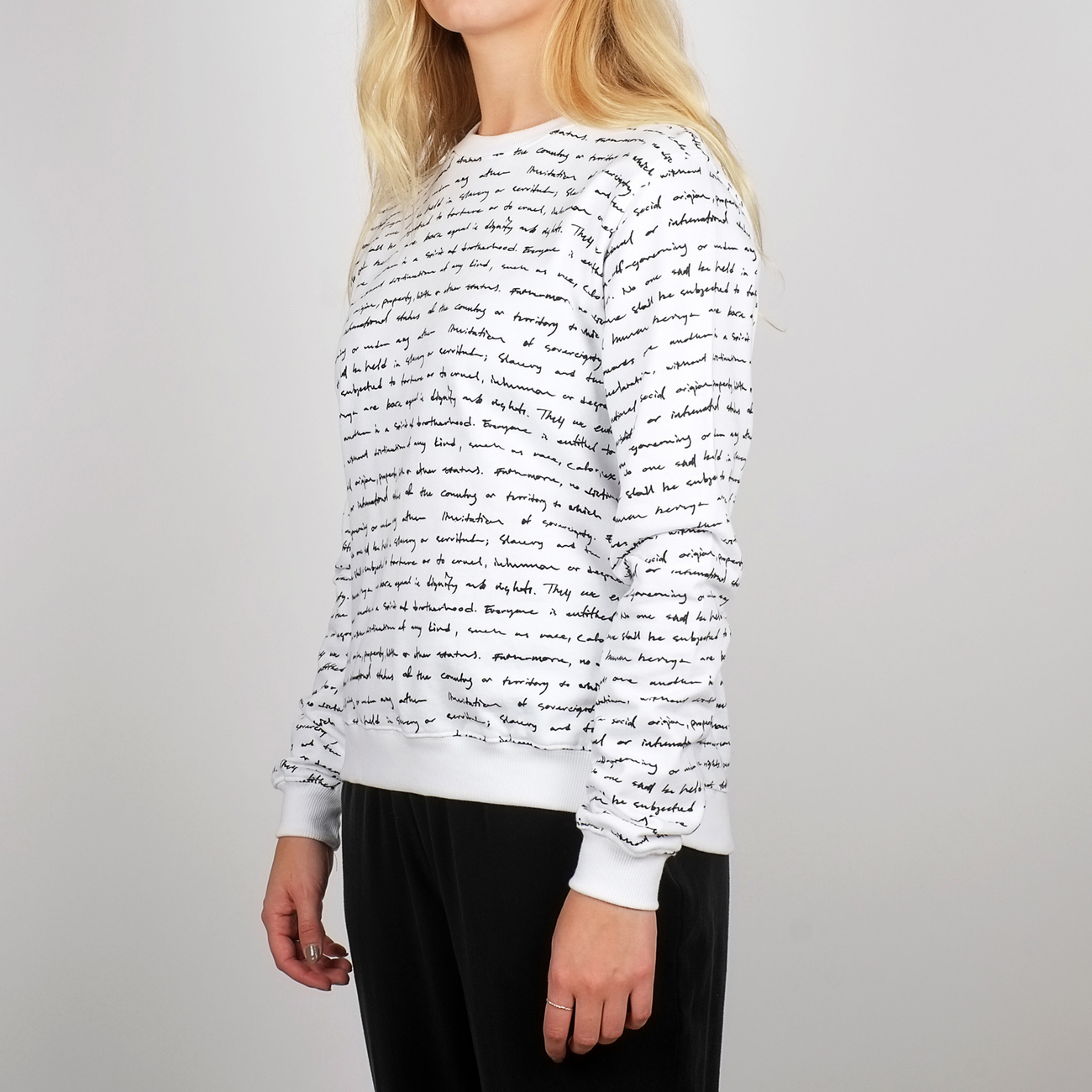 Sweatshirt Ystad Human Rights