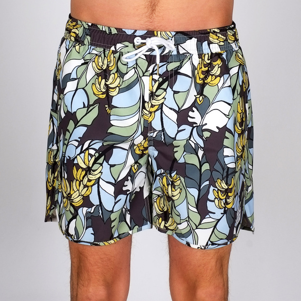 Swim Shorts Banana Leaves