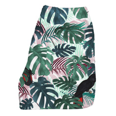 Swim Shorts Color Leaves