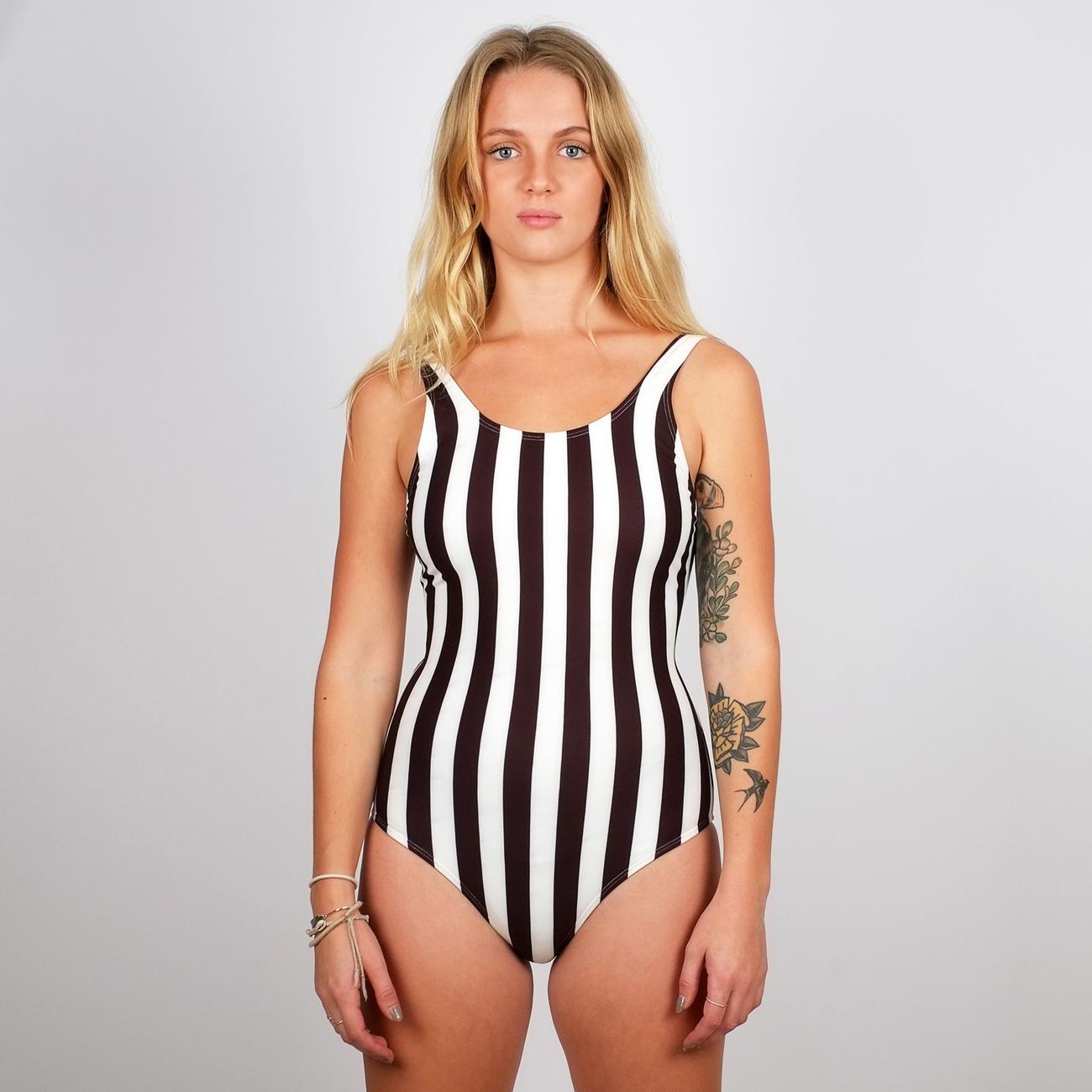 Baddräkt Rana Big Stripes