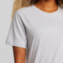 T-shirt Mysen Base Grey Melange