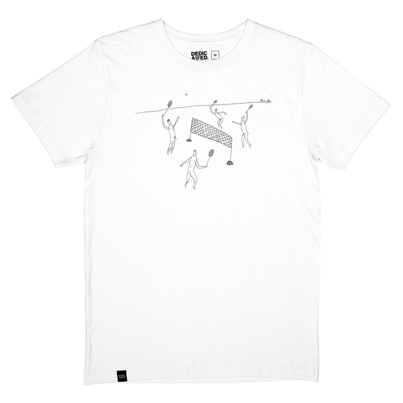 T-shirt Stockholm Badminton White