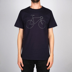 T-shirt Stockholm Bicycle Estate Blue