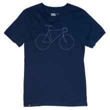 T-shirt Stockholm Bicycle Estate Blue