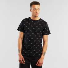 T-shirt Stockholm Bike Pattern Black