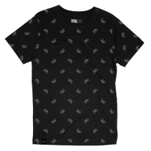 T-shirt Stockholm Bike Pattern