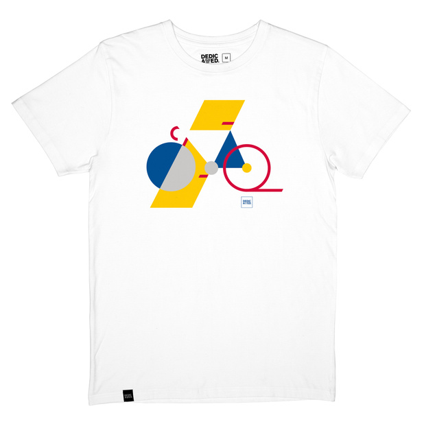 T-shirt Stockholm Block Bike