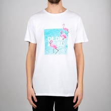 T-shirt Stockholm Dedicated Flamingos