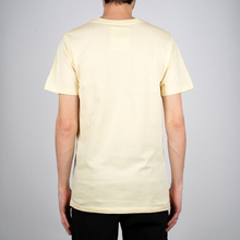 T-shirt Stockholm Dedicated Script Pale Yellow