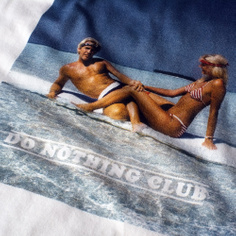 T-shirt Stockholm Do Nothing Club Couple