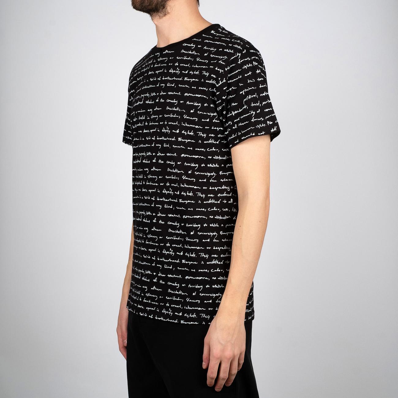 T-shirt Stockholm Human Rights Black