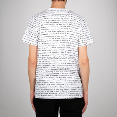 T-shirt Stockholm Human Rights White