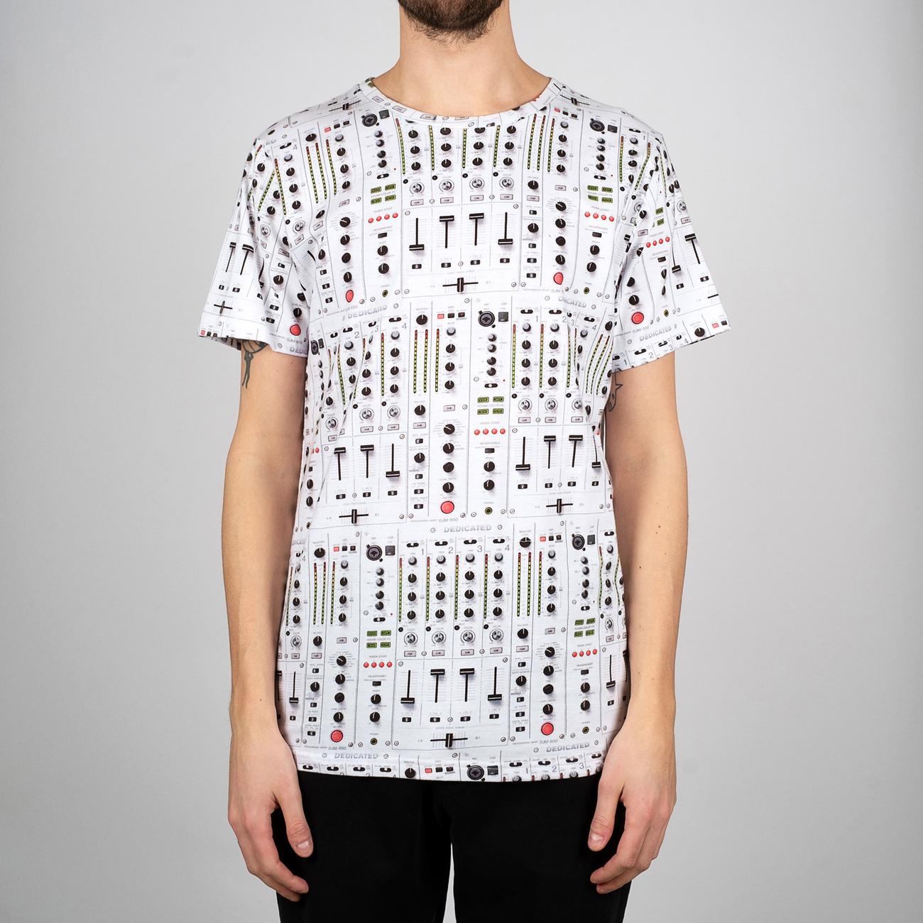 T-shirt Stockholm Mix Table White