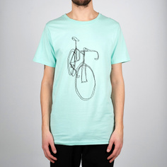 T-shirt Stockholm One Line Bike