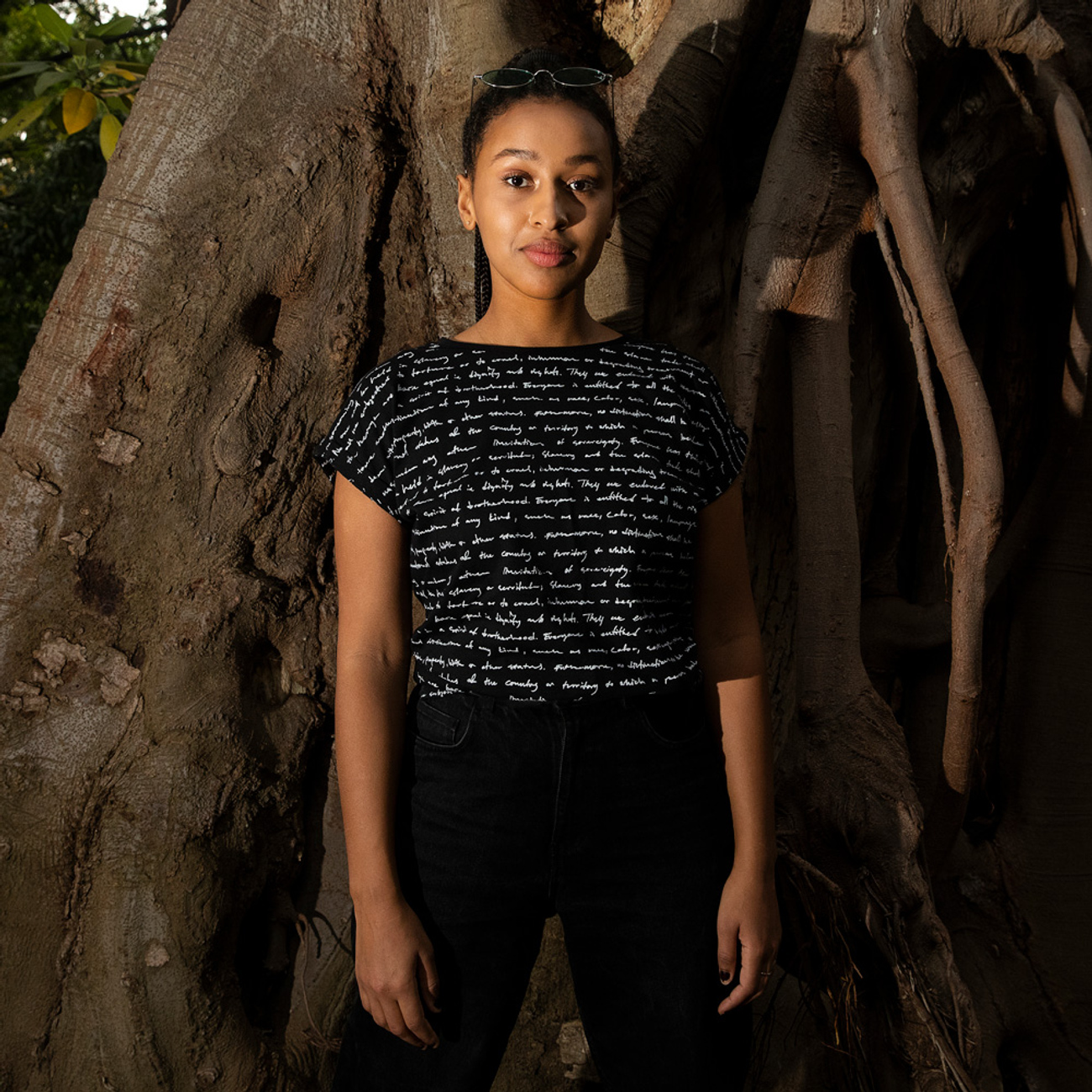 T-shirt Visby Human Rights Black