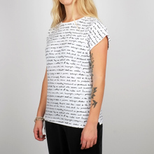 T-shirt Visby Human Rights White
