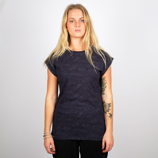 T-shirt Visby Japanese Waves