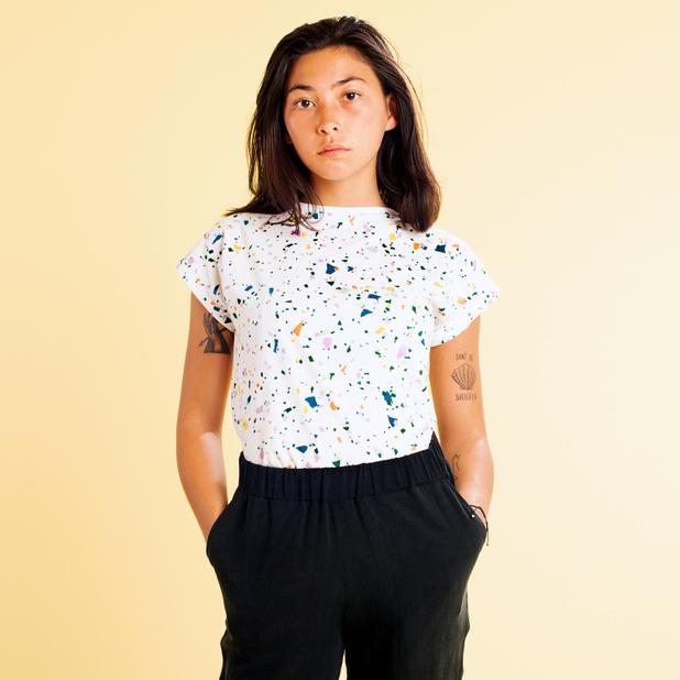T-shirt Visby Terazzo