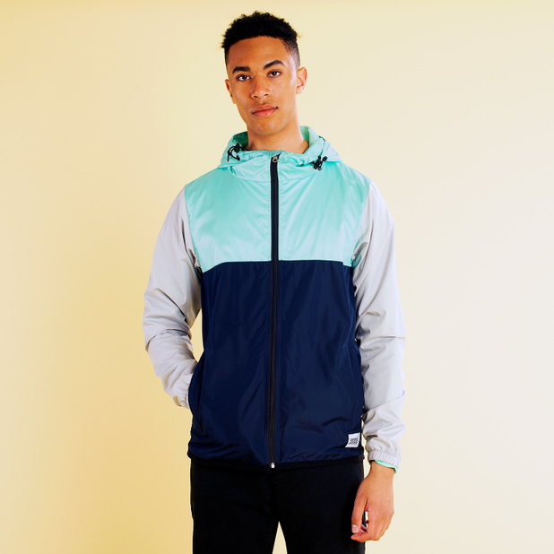 Windbreaker Skara Split Blue Tint
