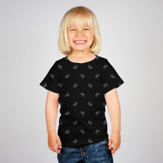 T-shirt Baby Bike Pattern