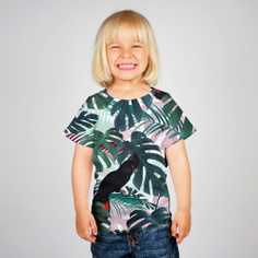 T-shirt Baby Color Leaves