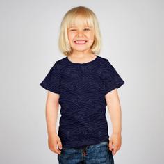 T-shirt Baby Japanese Waves