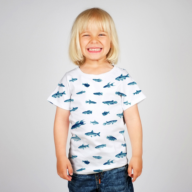 T-shirt Baby Small Fish