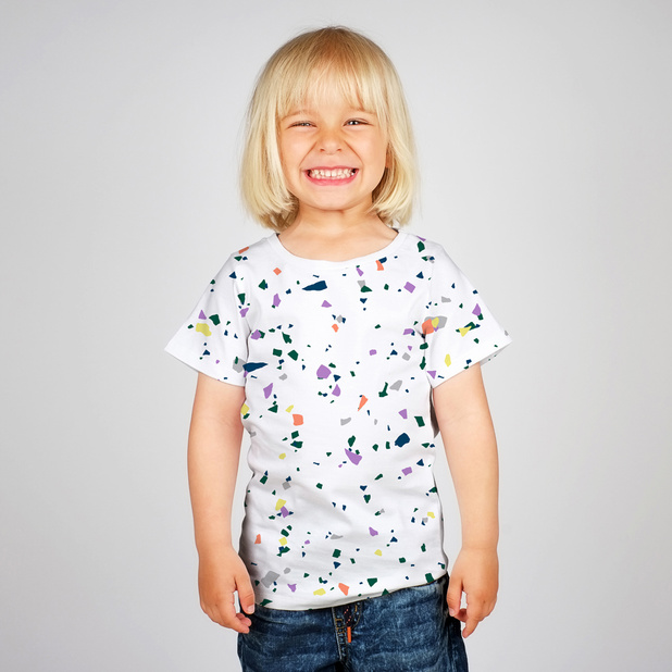 T-shirt Baby Terazzo