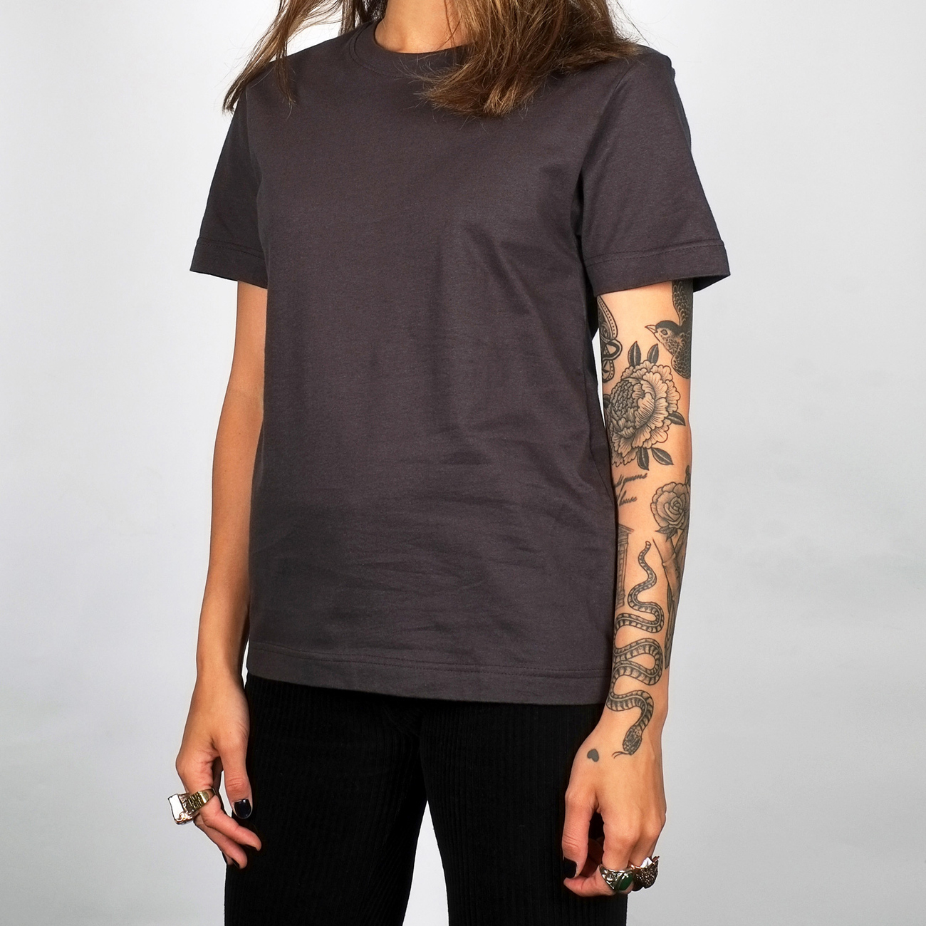 T-shirt Mysen Charcoal