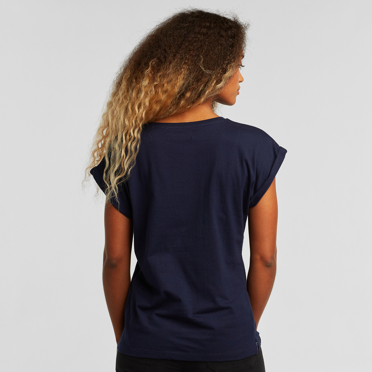 T-shirt Visby Local Planet Navy