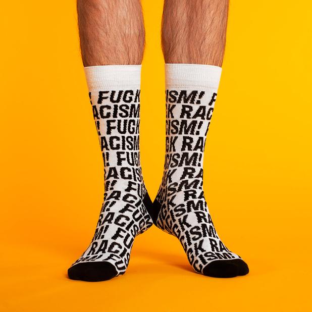 Socks Sigtuna Fuck Racism White