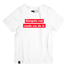 T-shirt Baby Gangsta Rap White