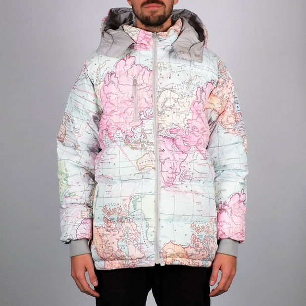 Puffer Jacket Dundret Map