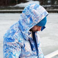 Puffer Jacket Dundret Ski Area