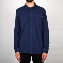 Shirt Varberg Corduroy Blue