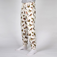 Joggers Lund Autumn Birds Off White