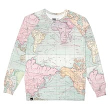 Sweatshirt Malmoe Map Multi Color