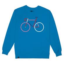 Sweatshirt Malmoe Color Bike Blue Aster