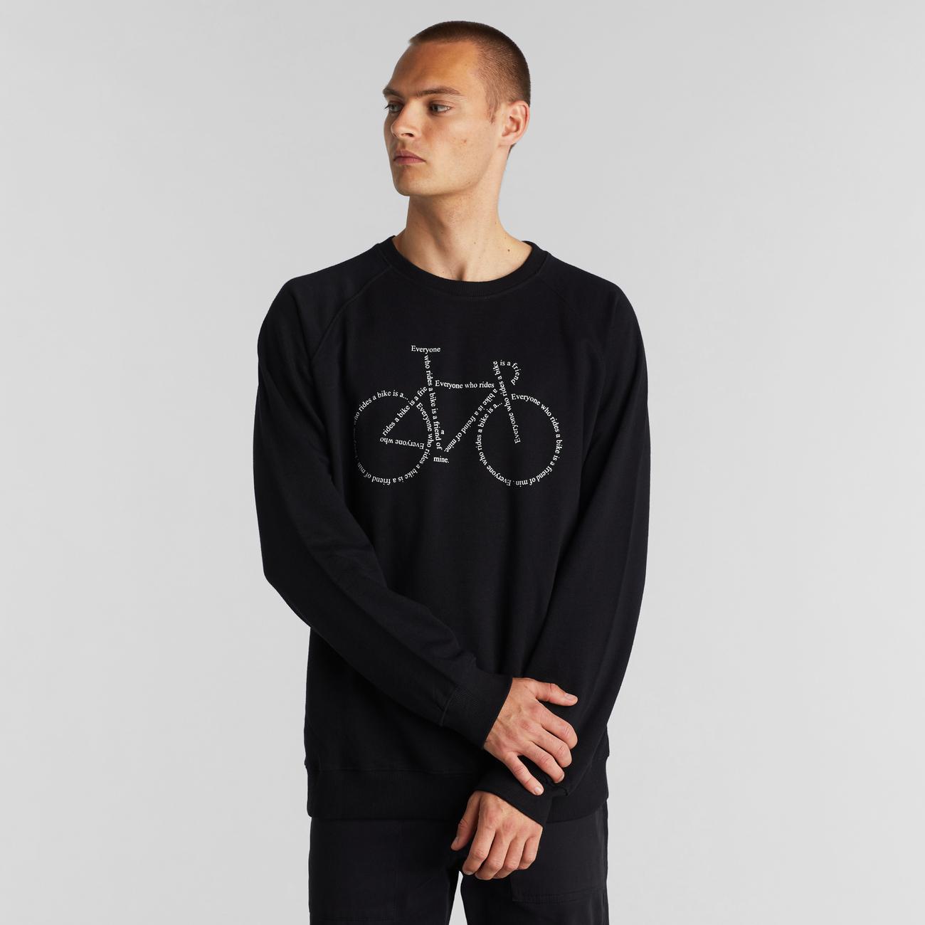 Sweatshirt Malmoe Text Bike