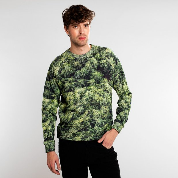 Sweatshirt Malmoe Forest Green