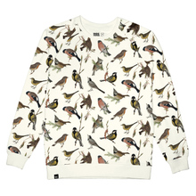 Sweatshirt Malmoe Autumn Birds Off White