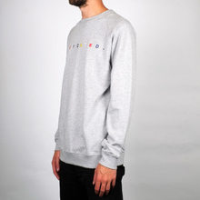 Sweatshirt Malmoe Spaced Logo Grey Melange