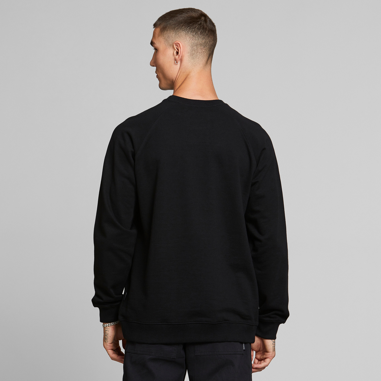 Sweatshirt Malmoe Dedicated Logo Black