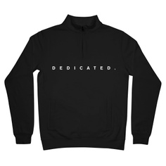 Sweatshirt Duved Dedicated Logo Black