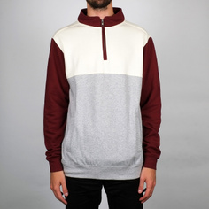 Sweatshirt Duved Split burgundy