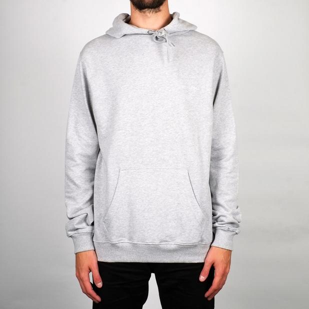 Hoodie Falun Dedicated Logo Grey Melange