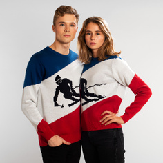 Stickad Tröja Mora Skier