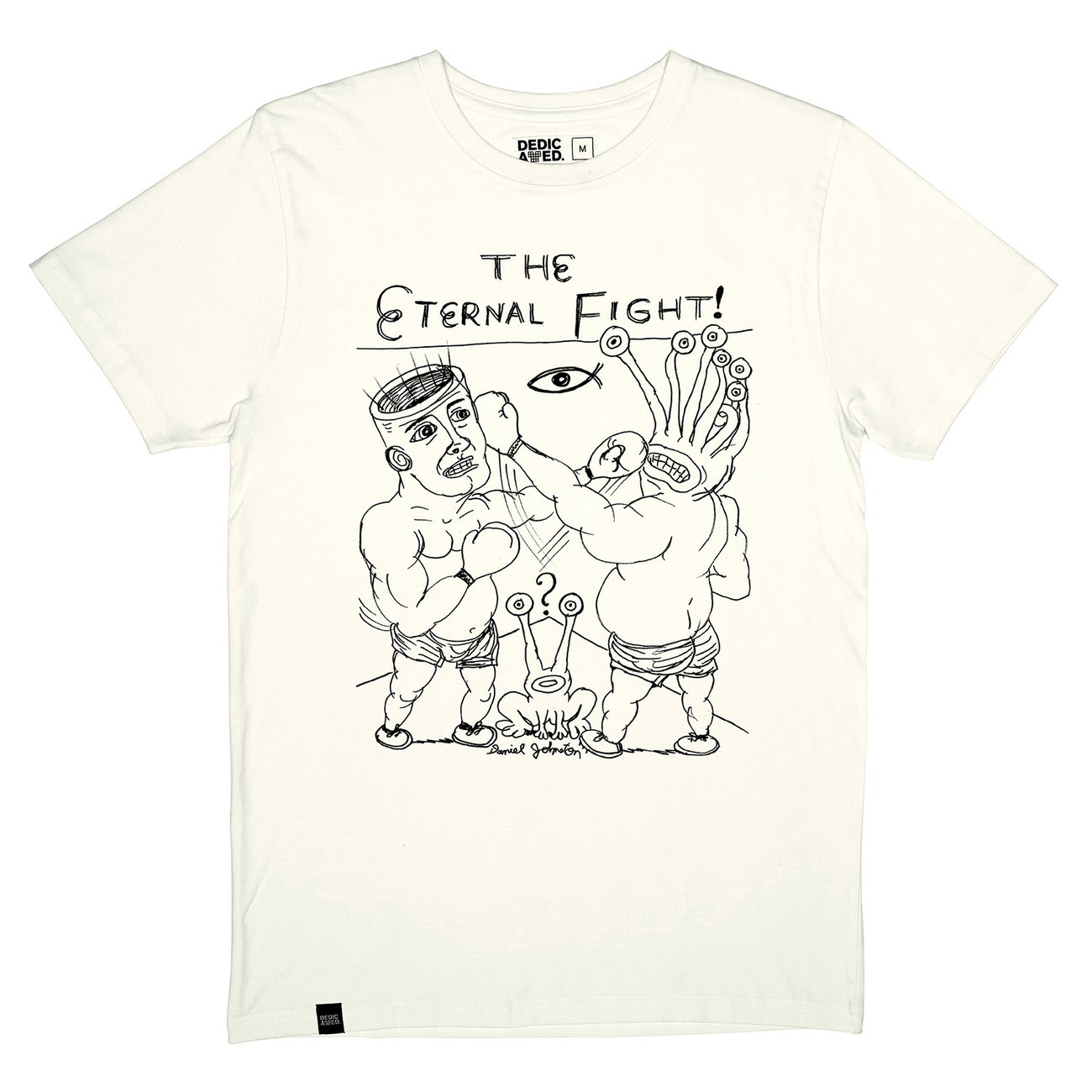 T-shirt Stockholm Eternal Fight Off-White